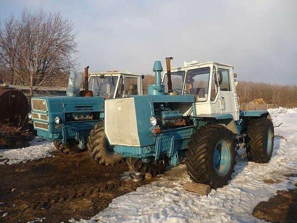 Опыт эксплуатации трактора Т-150К