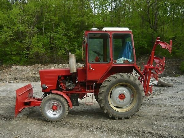 Модификации трактора Т-25