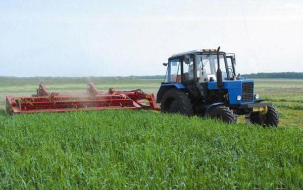 Опыт эксплуатации трактора МТЗ-80