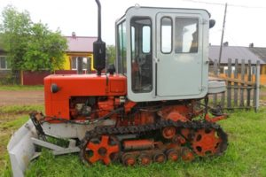 Трактор Т-70С: технические характеристики