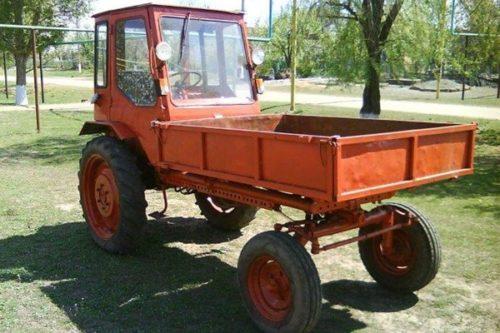 Трактор Т-16: технические характеристики