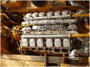 двигатель бульдозера Т-330
