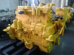 Двигатели трактора Т-130