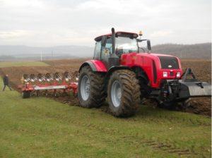 Создание трактора МТЗ 3522
