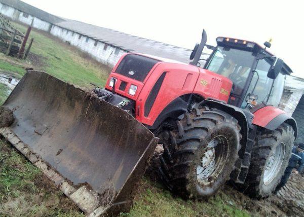 Гидравлическая система трактора «МТЗ-3522»
