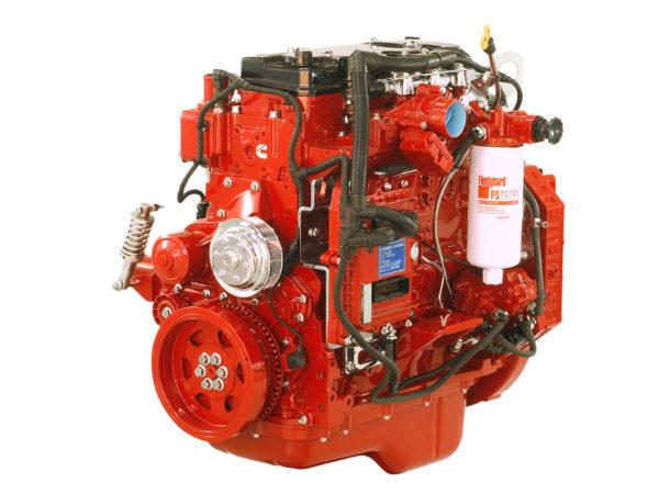 Двигатель комбайна «Акрос-580»