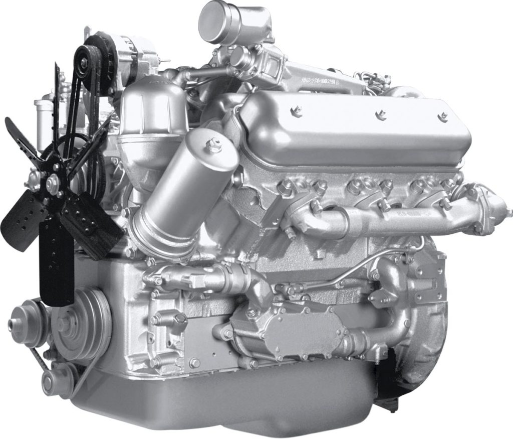 Двигатель комбайна «Vector-410»