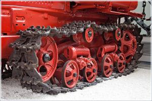 Ходовая часть и управление трактором «ДТ-75»