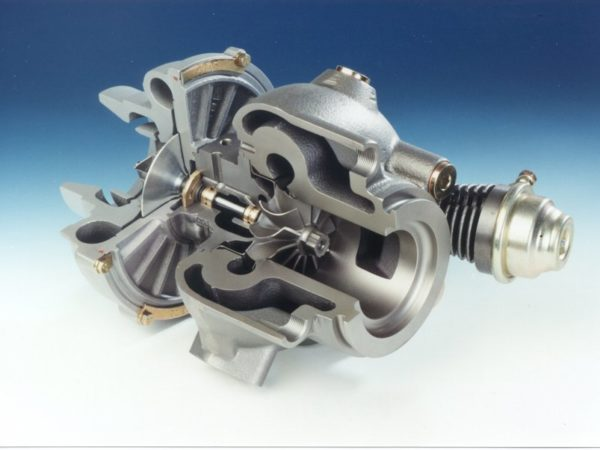 Как работает турбина дизельного двигателя 01