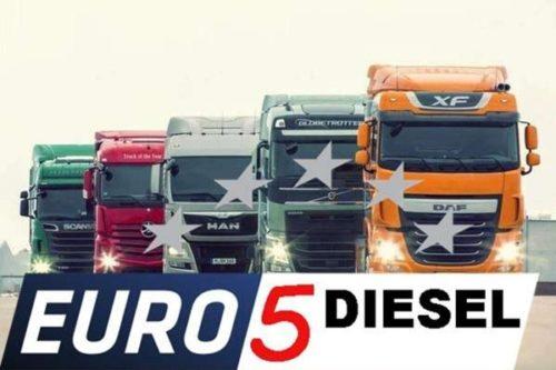 Дизельное топливо Евро 5: технические характеристики