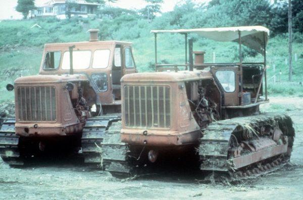 Модификации трактора Т-100