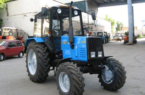 МТЗ-920: Технические характеристики
