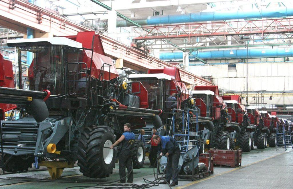 Об истории завода «Гомсельмаш»