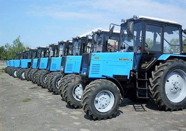 Один из самых продаваемых тракторов МТЗ