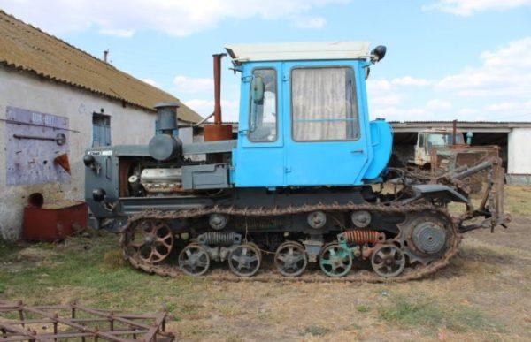 Описание конструкции трактора