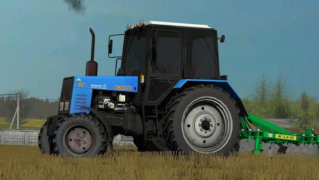 Особенности и сфера применения трактора «МТЗ-920»