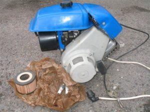 Двигатели мотоблоков «Крот» и «Крот-2»01