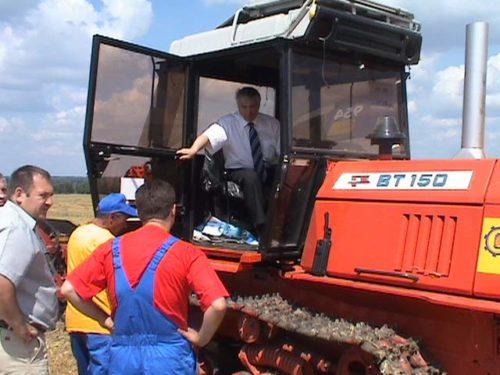 Отзывы механизаторов и владельцев о «ВТ-150»