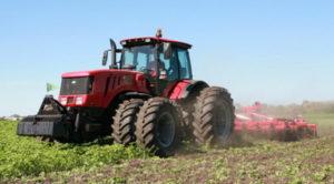 Сфера применения и особенности конструкции трактора «МТЗ-3022»