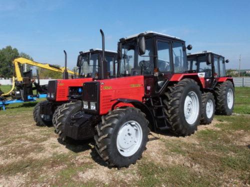 Технические характеристики трактора «Беларус МТЗ-892.2»