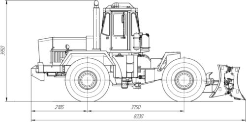 Технические характеристики трактора «К-702»