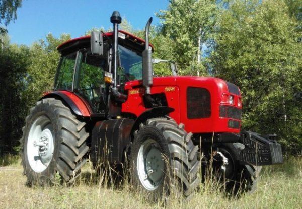 Трансмиссия, рулевое и тормозное управление трактора «МТЗ-2022»
