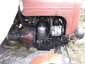 Двигатель трактора «ДТ-20»