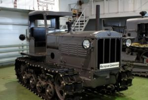 История трактора «ДТ-54»