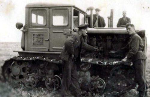 Особенности конструкции и модернизация трактора «ДТ-54»
