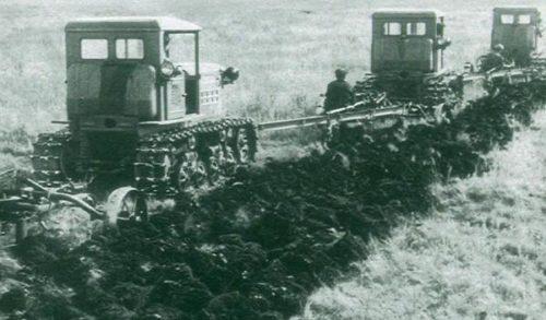 Сфера применения трактора «ДТ-54»