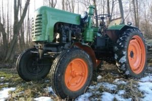 Трактор ДТ-20: Технические характеристики