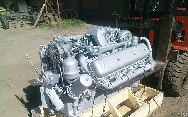 Двигатель и трансмиссия комбайна «Дон-680»