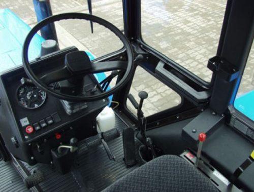 Рулевое и тормозное управление трактора