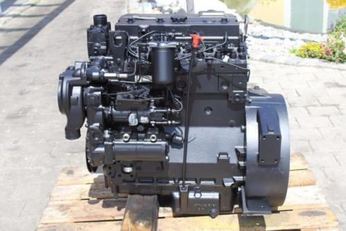 Двигатель экскаватора-погрузчика «JCB 3CX»-01