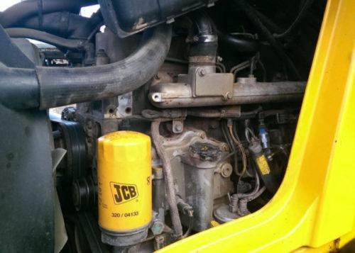 Двигатель экскаватора-погрузчика «JCB 3CX»