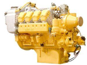 Двигатель сверх-бульдозера
