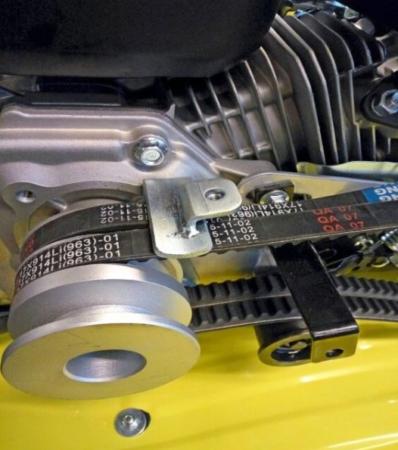 Двигатель и трансмиссия мотоблока «Champion BC9713»