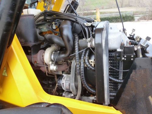 Двигатель «JCB 4CX»