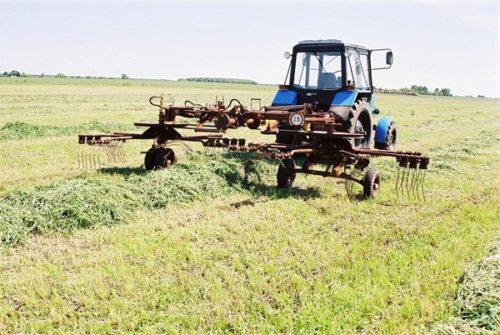 Отзывы владельцев грабель-ворошилок роторных «ГВР-630»