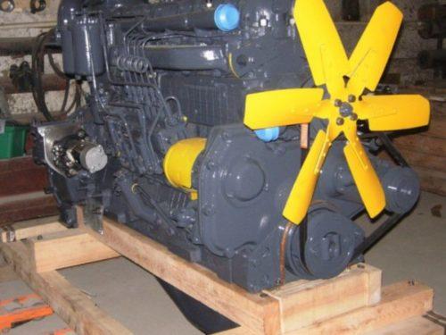 Двигатель экскаватора «ЭО-4121»