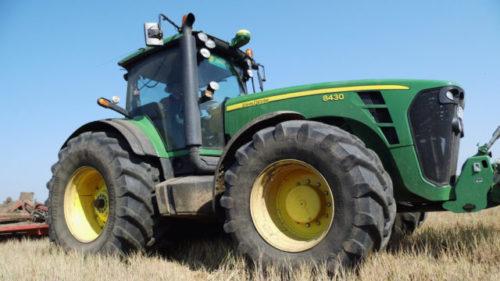 Трансмиссия трактора «John Deere-8430»