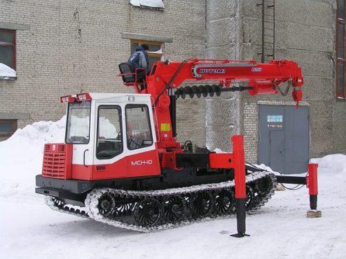 Бурильно-крановая машина «BuerLS2656» («Hotomi»