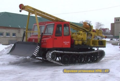 Буровая и сваебойная техника на базе «МСН-10»