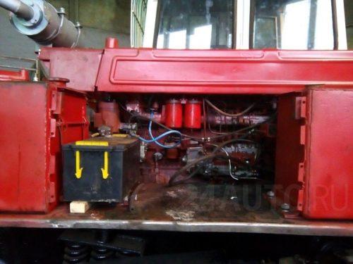 Двигатель трактора «ТТ-4М»