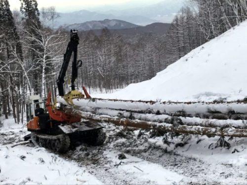 Лесозаготовительная техника из Барнаула