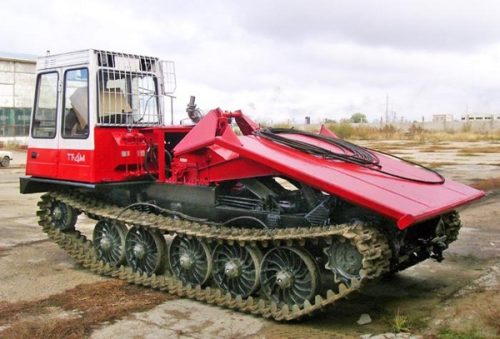 Модификации трактора «ТТ-4М»
