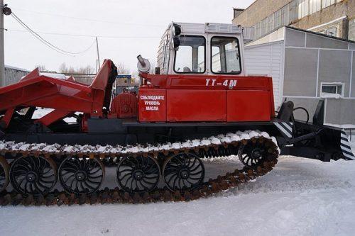 Стоимость трактора «ТТ-4М»