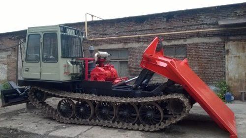 Технологическое оборудование трактора «ТТ-4М»