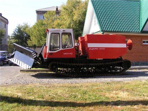 Трактор лесопожарный МСН-10 ПМ «Рубеж 4000»
