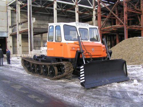 Трелёвочный трактор с трёхместной кабиной «МСН-10-003» и «МСН-10-003-07»